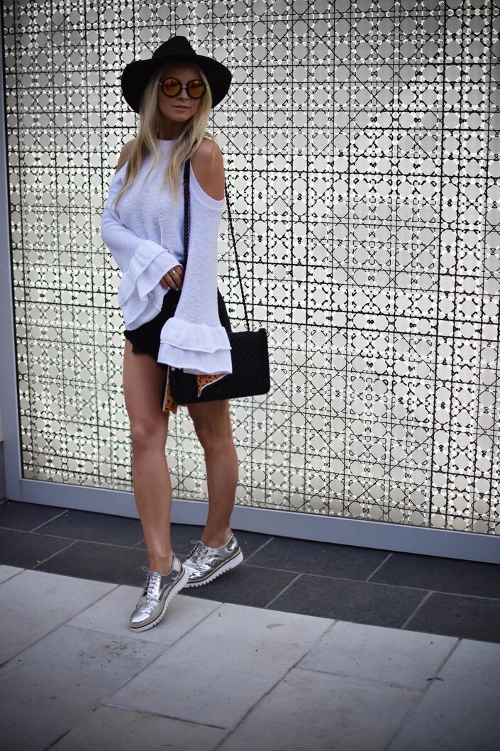 Platform Oxfords Outfit