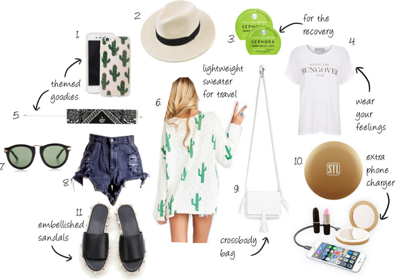 WHAT TO PACK: TEXAS BACHELORETTE