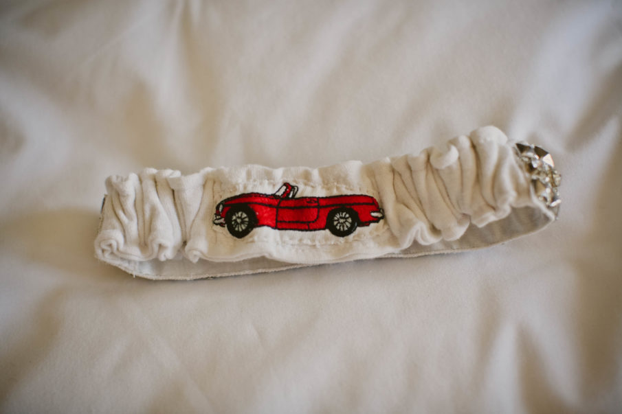 custom la gartier garter