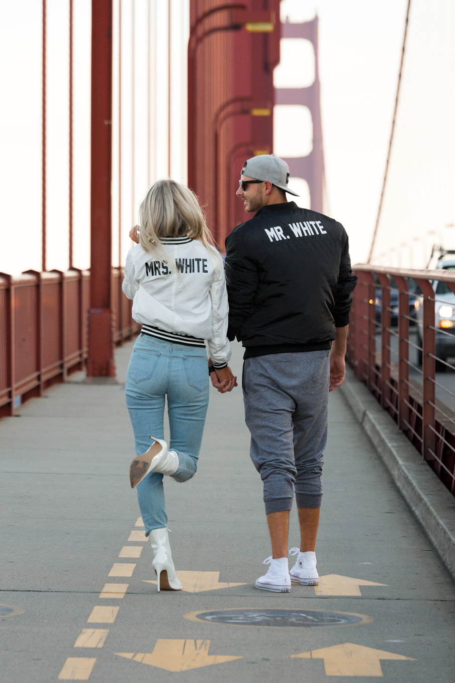 matching couple bomber jackets